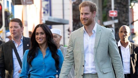 Meghan Markle Totally Flirted With Prince Harry in the 1st Preview of Their New Podcast   StyleCaster