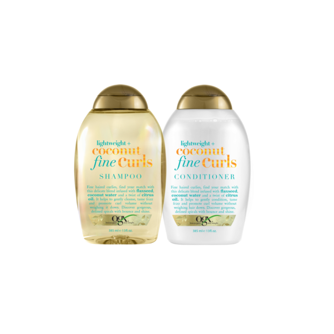 ogx lightweight coconut curls