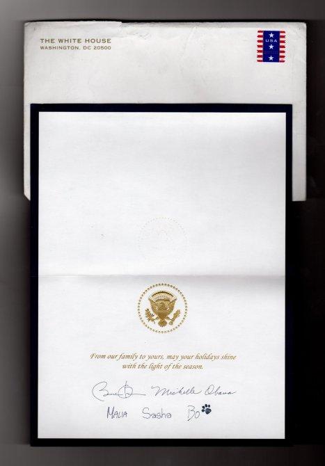 Obama Christmas Card 2011