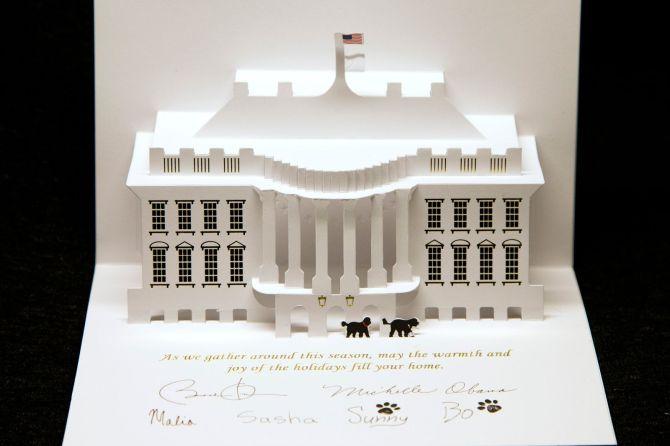 Obama Christmas Card 2013