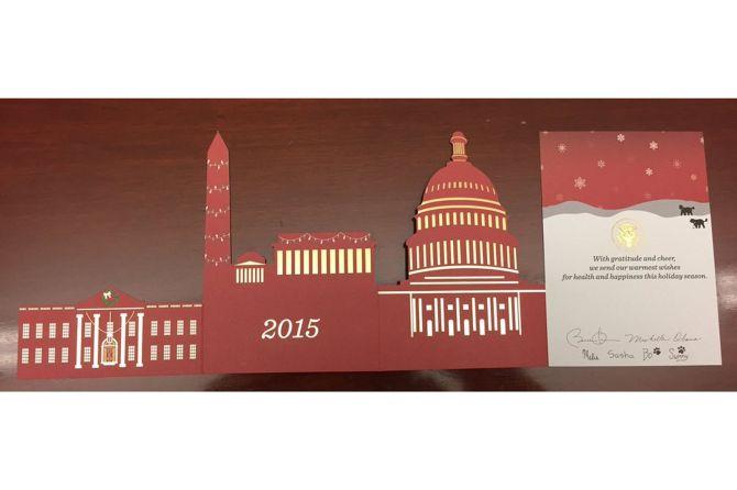Obama Christmas Card 2015