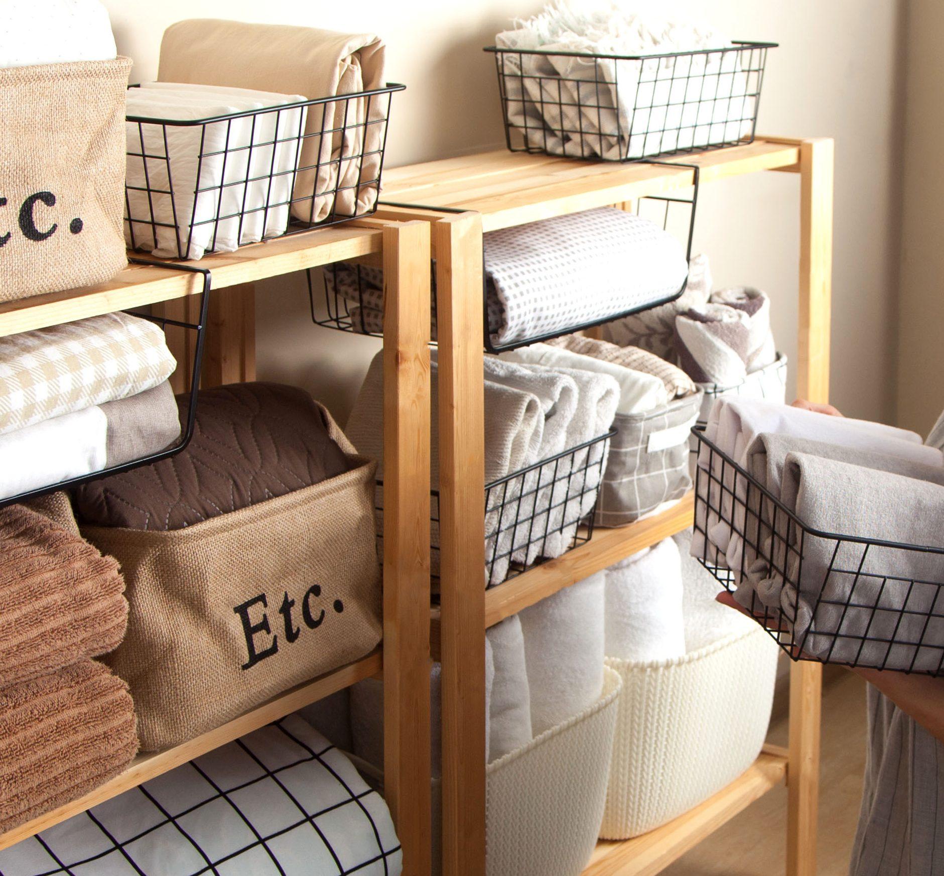 STYLECASTER | Blanket Storage ideas