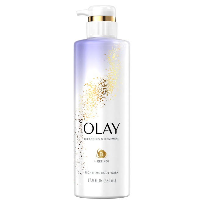 olay cleansing renewing body wash