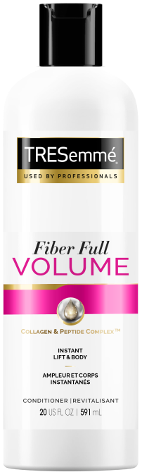 TRESemme Fiber Full Volume Conditioner These Drugstore Conditioners Guarantee a Good Hair Day