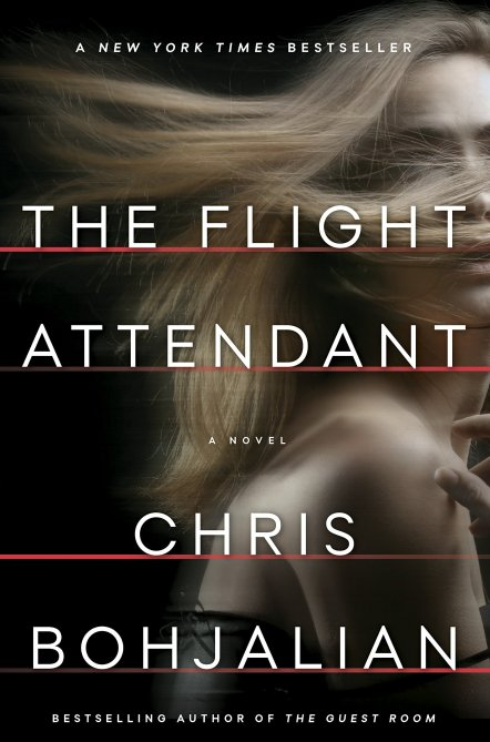 """""""The Flight Attendant"""" Book Cover"""