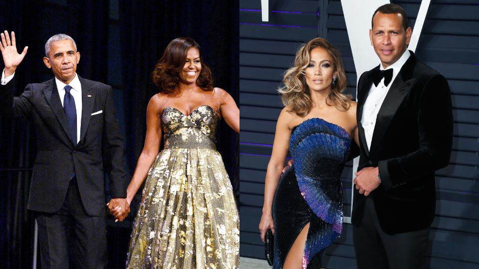 Barack & Michelle Obama, Jennifer Lopez & A-Rod