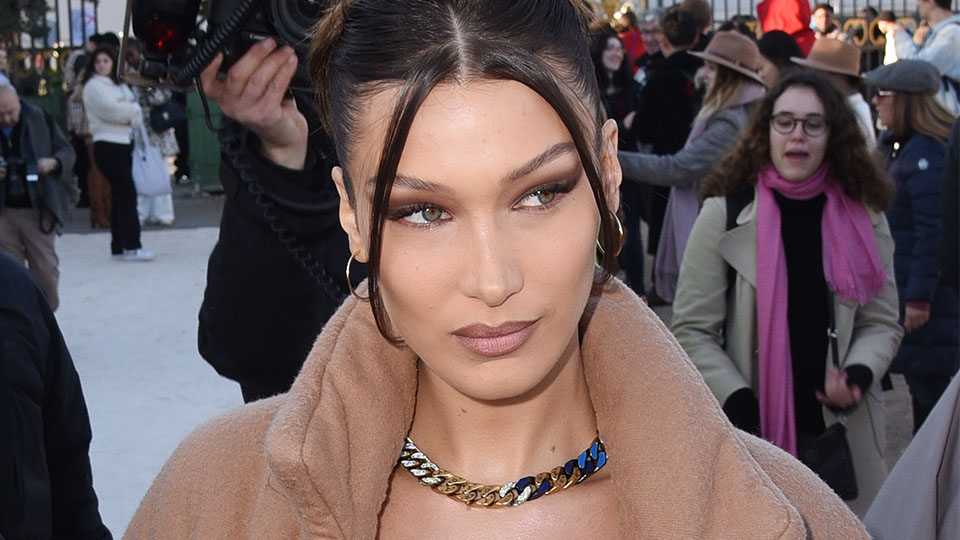 Bella Hadid Looks Better In This Bathrobe Than I Would In A Literal Gown