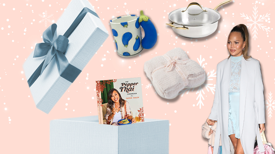 Chrissy Teigen's Holiday Gift Guide Is Literally My Dream Night In