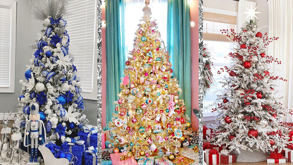 Let This Abundance Of Christmas Tree Inspo Help You Choose Your Tree's Aesthetic