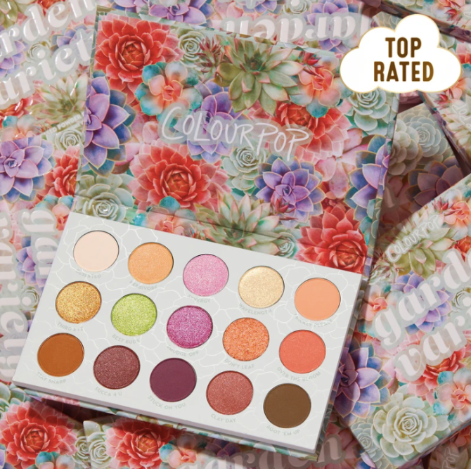 colourpop garden variety ColourPops Post Holiday Sale Features Half Off More Than 100 Products
