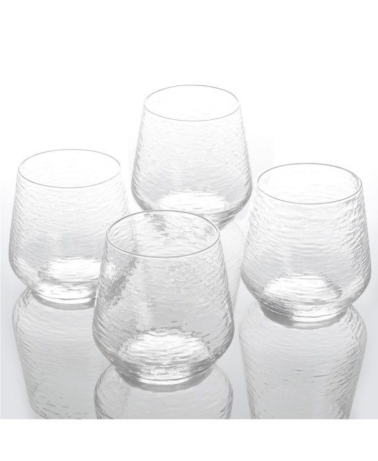 cravings by chrissy teigen set of 4 15 oz. double old fashioned glasses Chrissy Teigens Holiday Gift Guide Is Literally My Dream Night In