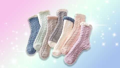 6 Pairs Of Fuzzy Socks That'll Warm Your Feet & Soul | StyleCaster