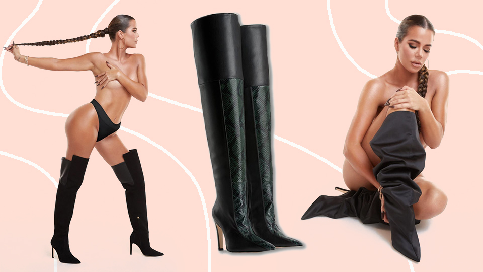 Good American Debuted Shoes In Sizes 4-14 & OMG, These Boots