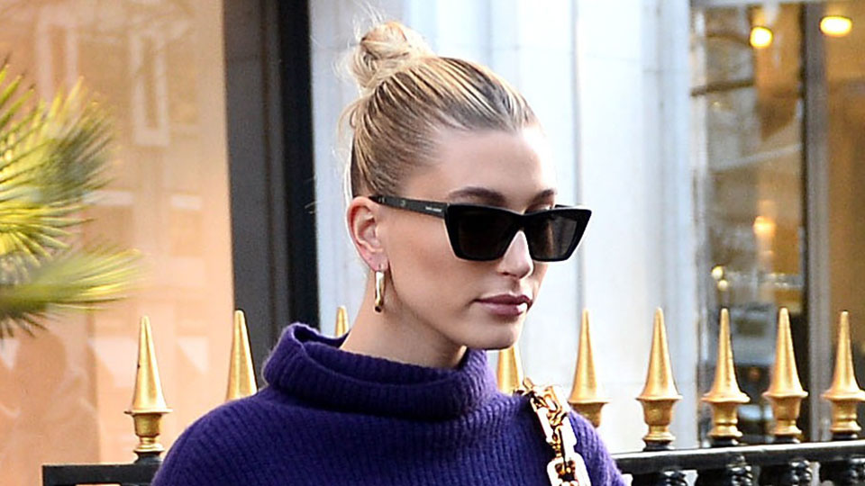 According To TikTok, These $14 Hoops Look Just Like Hailey Bieber's Favorite Pair