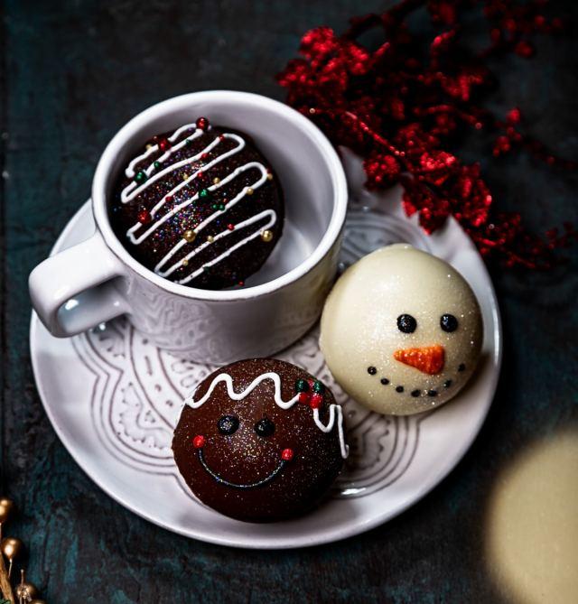 STYLECASTER |  Hot Chocolate Bomb Recipes