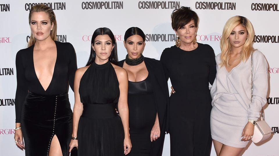 Khloé, Kourtney & Kim Kardashian and Kris & Kylie Jenner