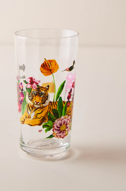 nathalie lete tropical juice glass Chrissy Teigens Holiday Gift Guide Is Literally My Dream Night In
