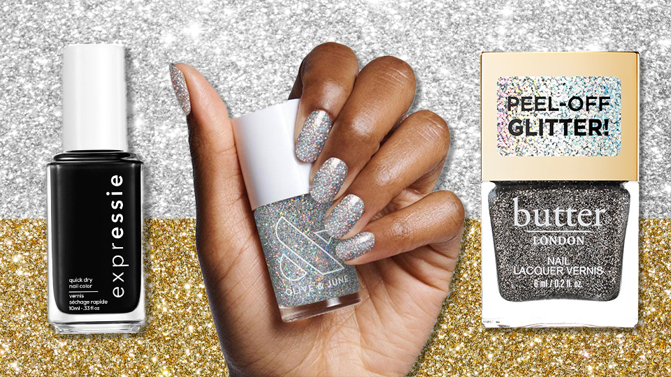 These Festive New Year's Eve Nail Looks Are the Perfect Excuse To Celebrate the End of 2020