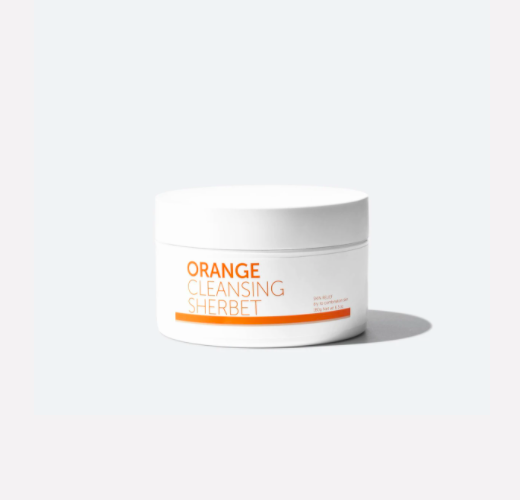 Peach & Lily. orange cleansing