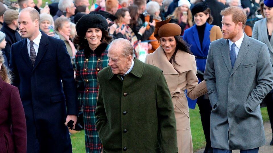 Prince Harry & Royal Family Christmas