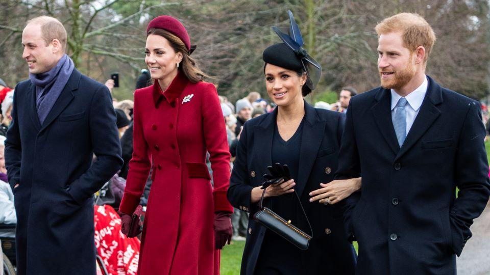 Prince William, Kate Middleton, Meghan Markle & Prince William