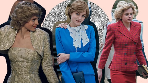 Pay Close Attention To Princess Diana's 'The Crown' Wardrobe—Here's Each Color's Meaning | StyleCaster