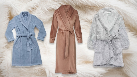 Just 10 Bathrobes I Plan To Wear Instead Of Real Clothes In 2021 | StyleCaster