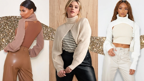 I Tried The Weird Half-Sweater Sleeve Trend & I'm Actually Really Into It | StyleCaster