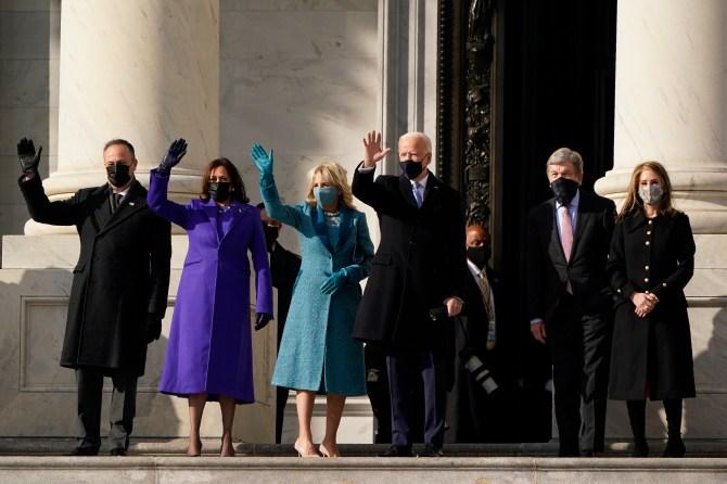 STYLECASTER | Jill Biden Inauguration Look