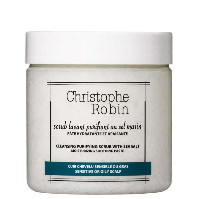 Christophe Robin Purifying Scalp Scrub with Sea Salt