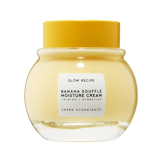 Glow Recipe Banana Soufflé Moisture Cream  Seeing Red? Time To Add This Soothing Skincare Ingredient To Your Lineup