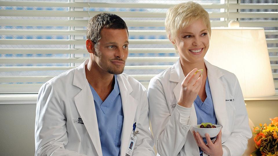 """""""Grey's Anatomy,"""" Alex & Izzie"""