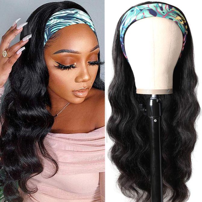 Headband Brazilian Glueless Density Headband Wigs Are Trending Like Crazy & Here Are My Favorites
