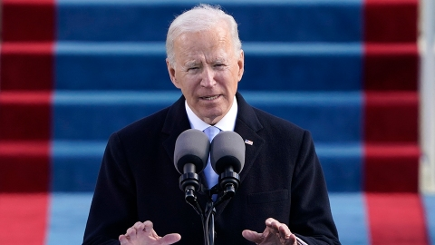 Joe Biden Quoted 'American Anthem' In His Inauguration Speech & The Lyrics Are Powerful | StyleCaster