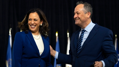 Does Kamala Harris Have Kids? What to Know About Her Family With Douglas Emhoff | StyleCaster