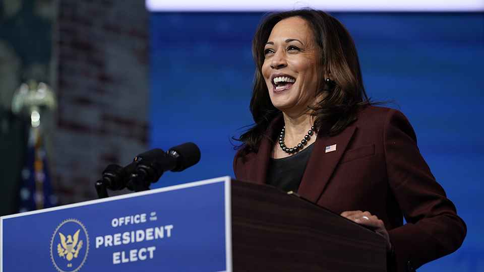 V.P. Kamala Harris - cover