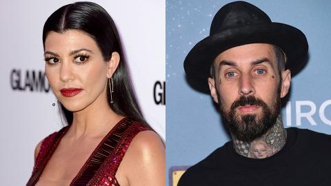 Kourtney Kardashian & Travis Barker Are Dating After Secretly Hooking Up For 'Years'   StyleCaster