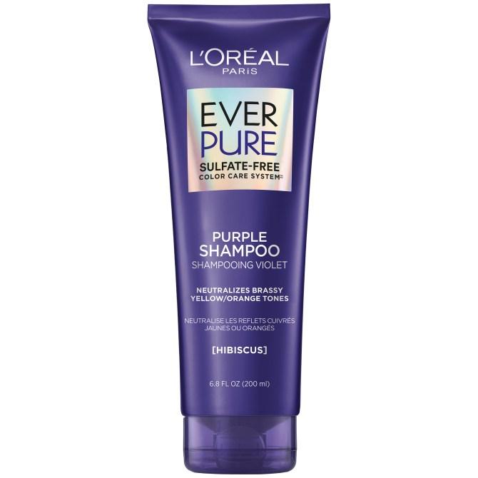 loreal paris purple shampoo