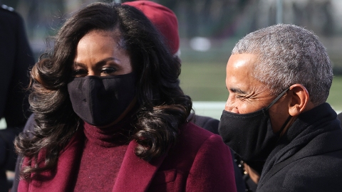 Michelle Obama Was Seen 'Yelling' at Barack During the Inauguration & Here's Why | StyleCaster