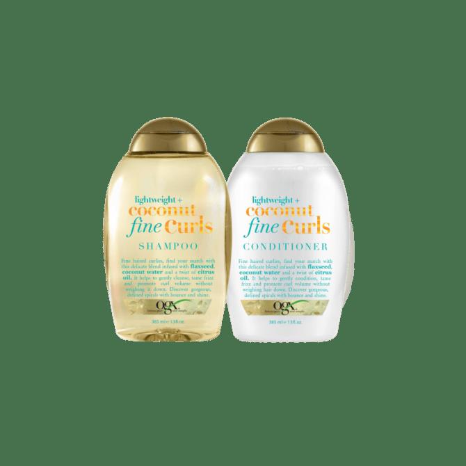 ogx lighweight coconut curls