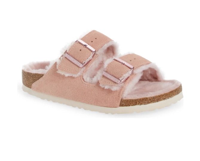 Arizona Genuine Shearling Slide Sandal