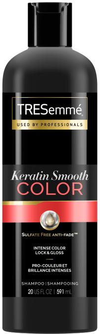 TRESemme Keratin Smooth Color Shampoo The Most Exciting Drugstore Shampoo Launches of 2021