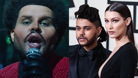 Fans Think The Weeknd Shaded Bella Hadid's Plastic Surgery in His New Music Video | StyleCaster