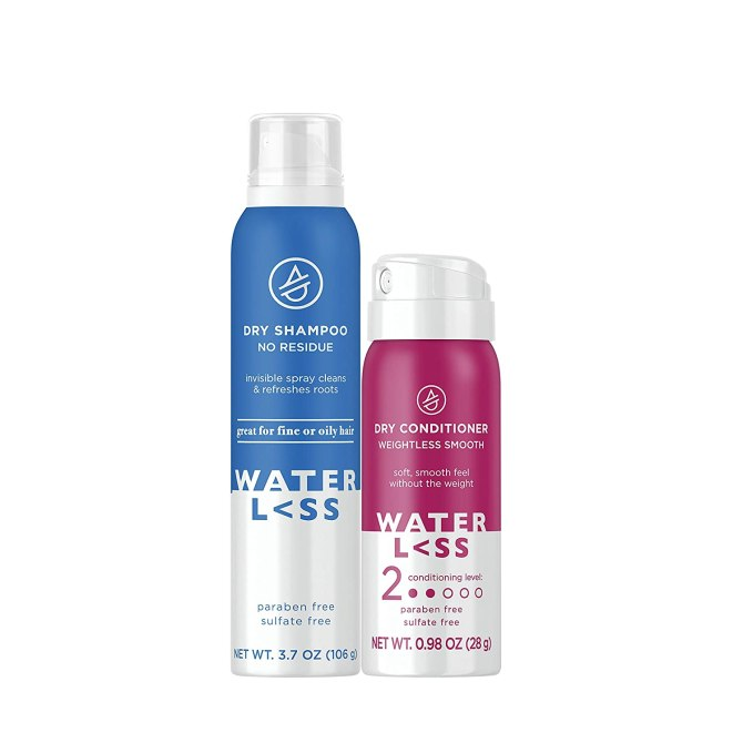 Waterless Shampoo Mini Conditioner Grab These New Amazon Beauty Steals Way Before Prime Day
