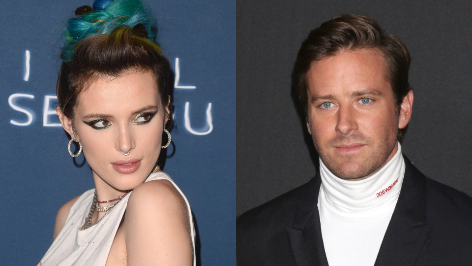 Bella Thorne Is Defending Armie Hammer Against Those Cannibalism Accusations & 'Fake' DMs | StyleCaster