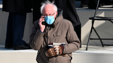 Bernie Sanders' Fair Isle Mittens Made The Internet Brrn—& You Can Score A Pair