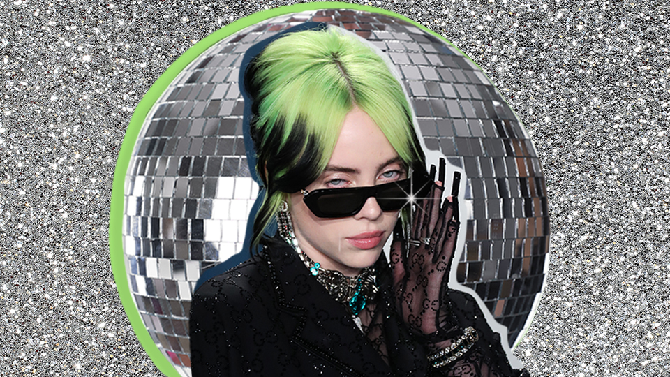Billie Eilish Looked Like A Literal Disco Ball In Her 'Vanity Fair' Spread