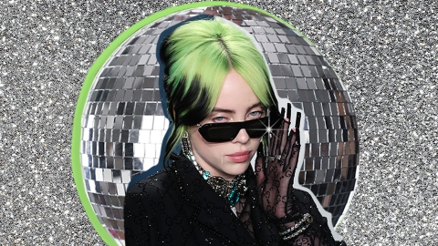 Billie Eilish Looked Like A Literal Disco Ball In Her 'Vanity Fair' Spread | StyleCaster