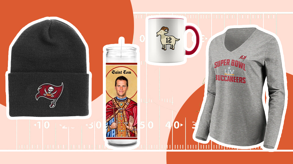 Calling All Tampa Bay Fans—Shop This Cute Bucs Merch Before The Super Bowl