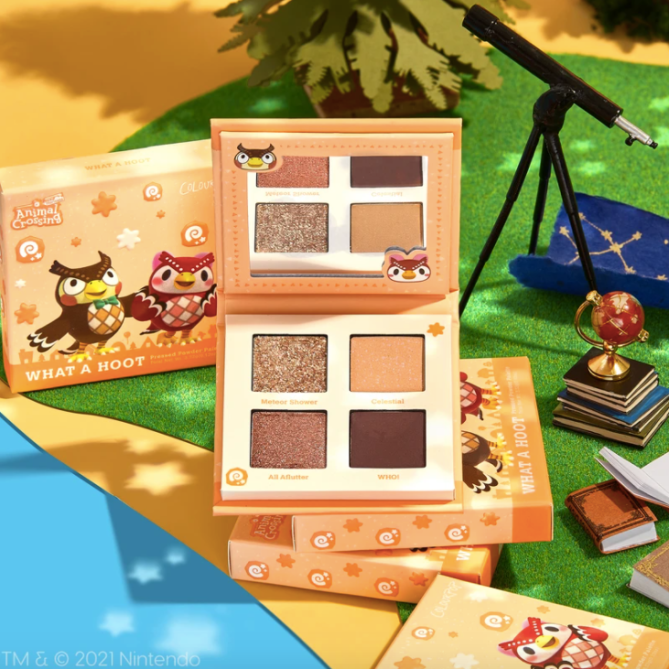 colourpop animal crossing ColourPops Animal Crossing Collection Is As Cute—Maybe Cuter—Than the Game